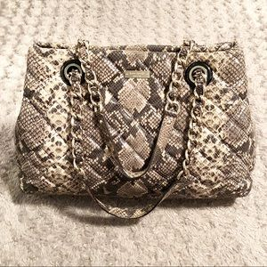 Kate Spade snakeskin bag paid $498 Like new!